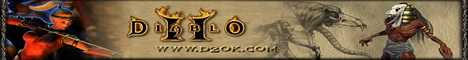 D2ok.com,Inc.The Cheapest Diablo 2 items. Banner