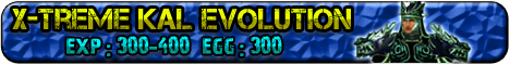 X-Treme Kal Evolution Server Banner