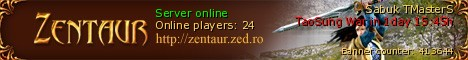 Legend of Mir 3 server zentaur Banner
