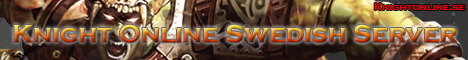 My Knight Online Swedish Server Banner